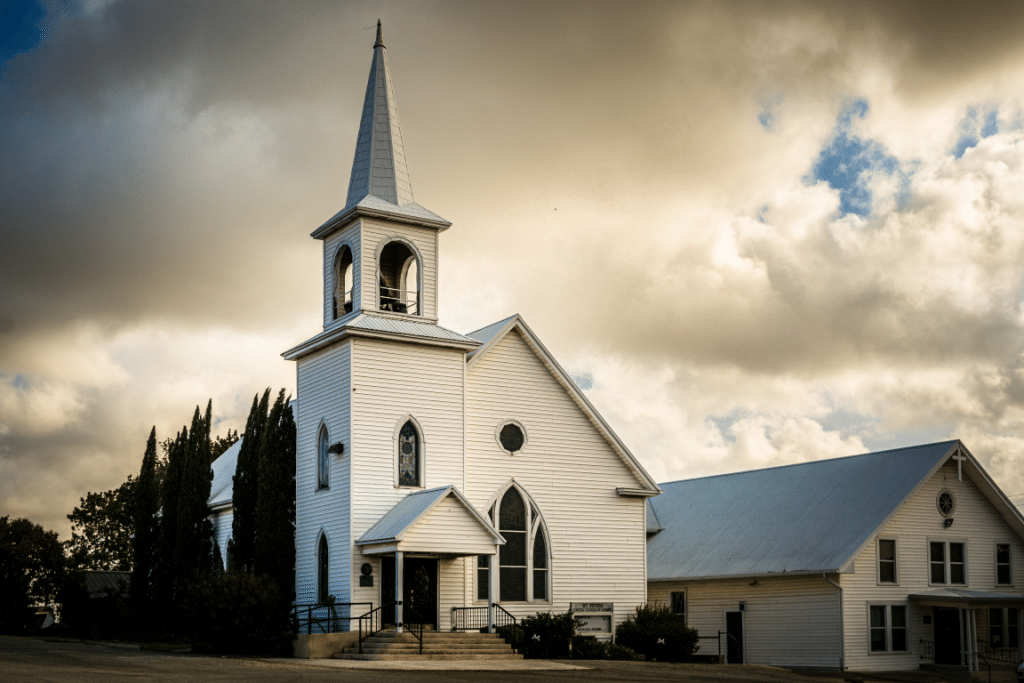 St. Peter's Church of Coupland, Texas